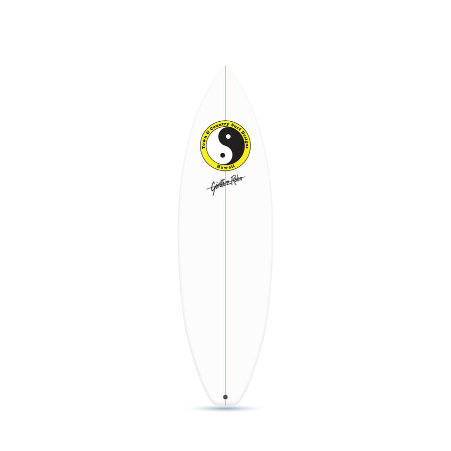 Retro 88 Clear - Thruster Surfboard