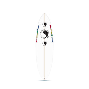 Still Single Clear - Single Fin Surfboard