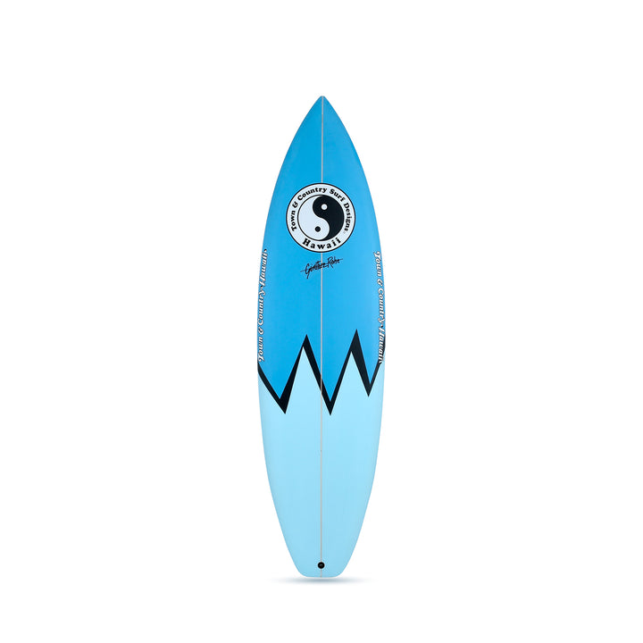 Retro 88 Blue - Thruster Surfboard
