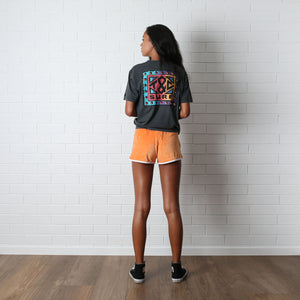 Aloha Scoop Short - Peach