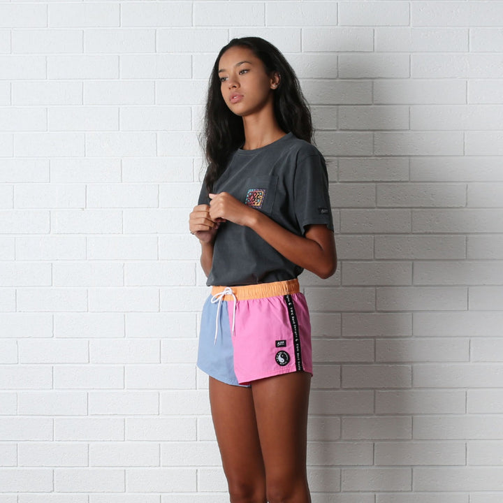 Hype Beach Shorts - Colour Block