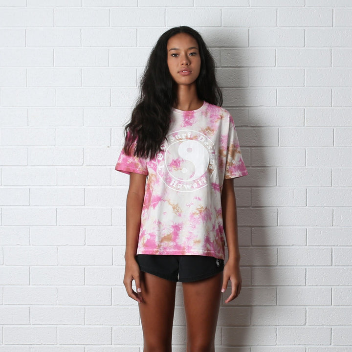 Washed Away Tee - Sunrise Tie Dye