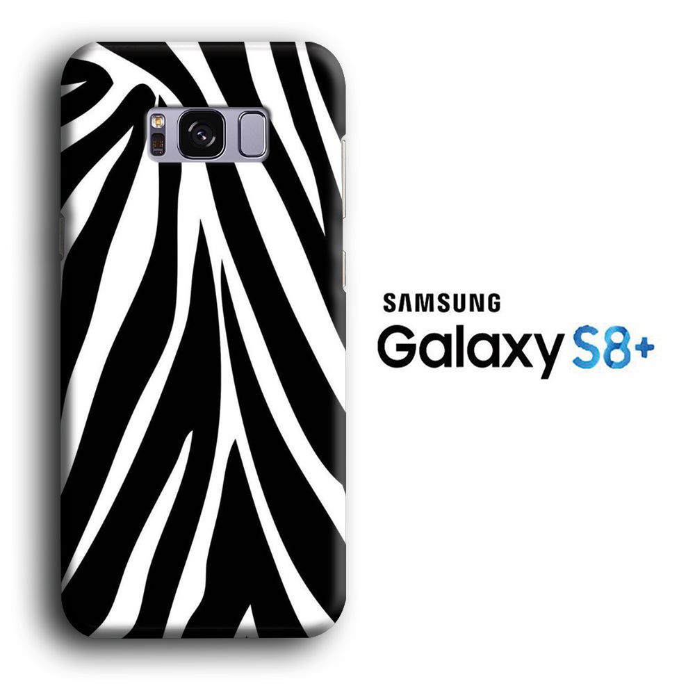 Animal Zebra Skin 02 Samsung Galaxy S8 Plus 3D Case