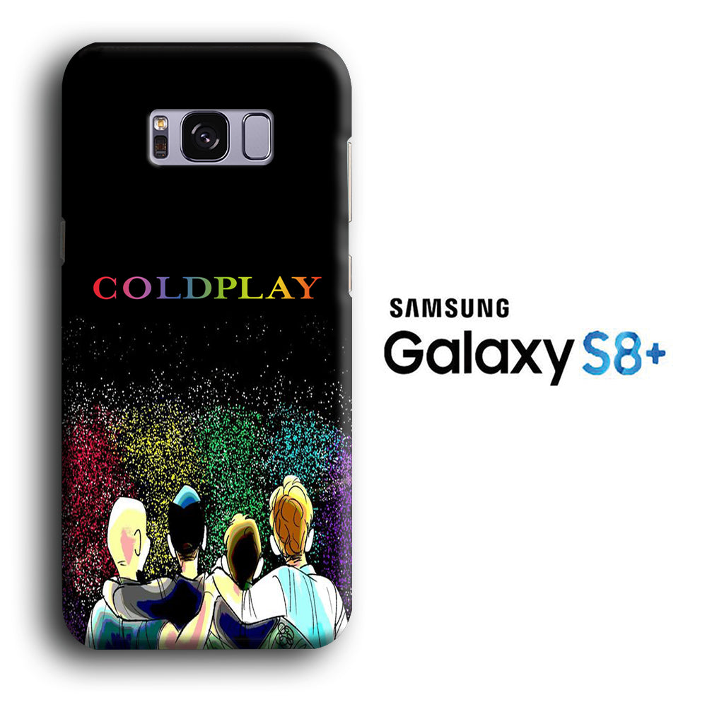 COLDPLAY The Night Concer Samsung Galaxy S8 Plus 3D Case