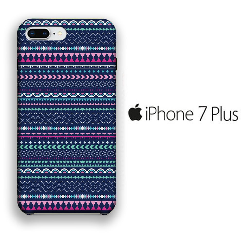 Chevron 010 iPhone 7 Plus 3D Case