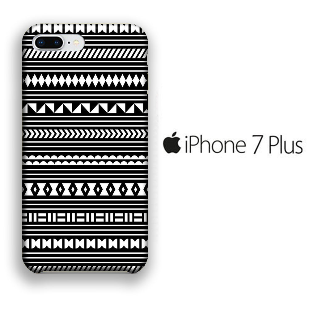 Chevron 014 iPhone 7 Plus 3D Case