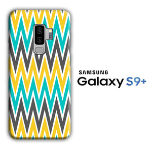 Chevron 3 Colour Samsung Galaxy S9 Plus 3D Case