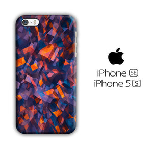 Colour Blue Orange iPhone 5 | 5s 3D Case - casecarney - 3D Case