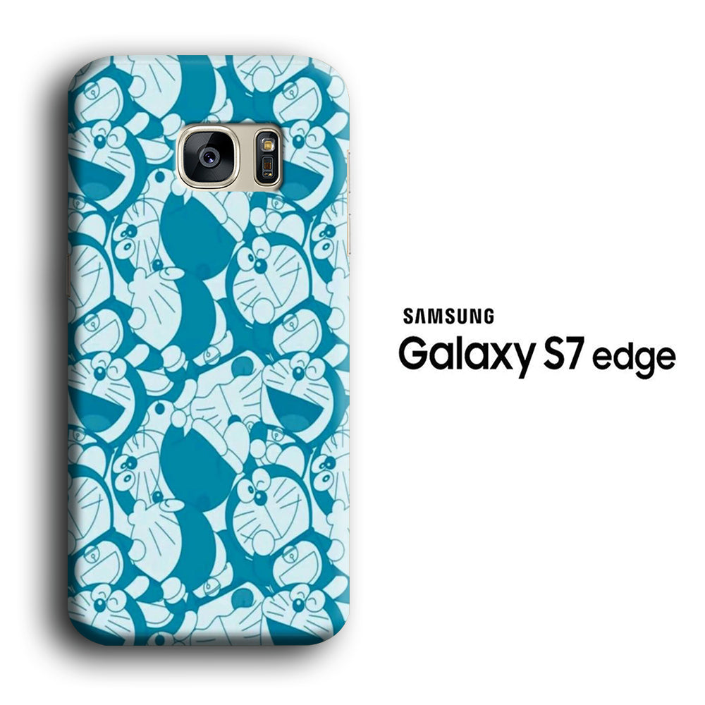 Doraemon Wallpaper Samsung Galaxy S7 Edge 3d Case Casecarney