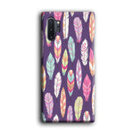 Feather Orchid Purple Samsung Galaxy Note 10 Plus 3D Case
