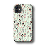Feather Soft Green iPhone 11 3D Case