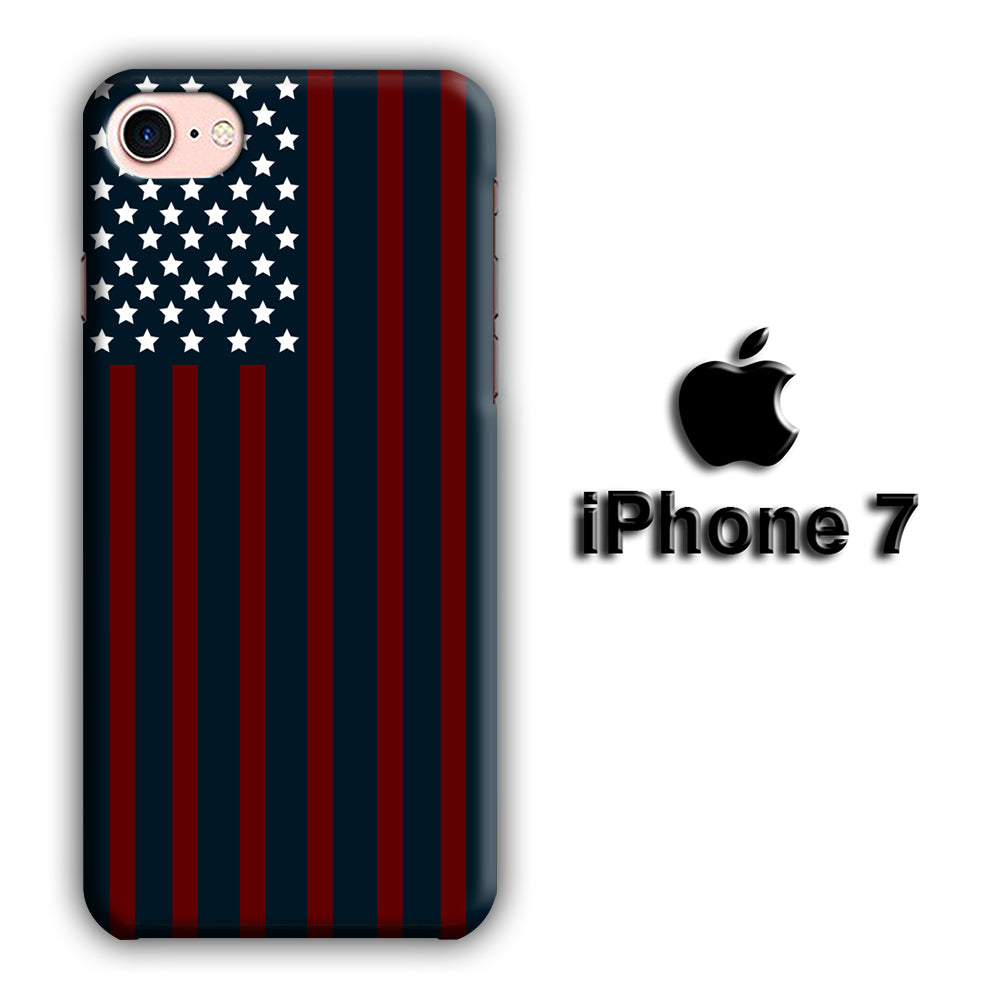 Flags Navy Reds iPhone 7 3D Case