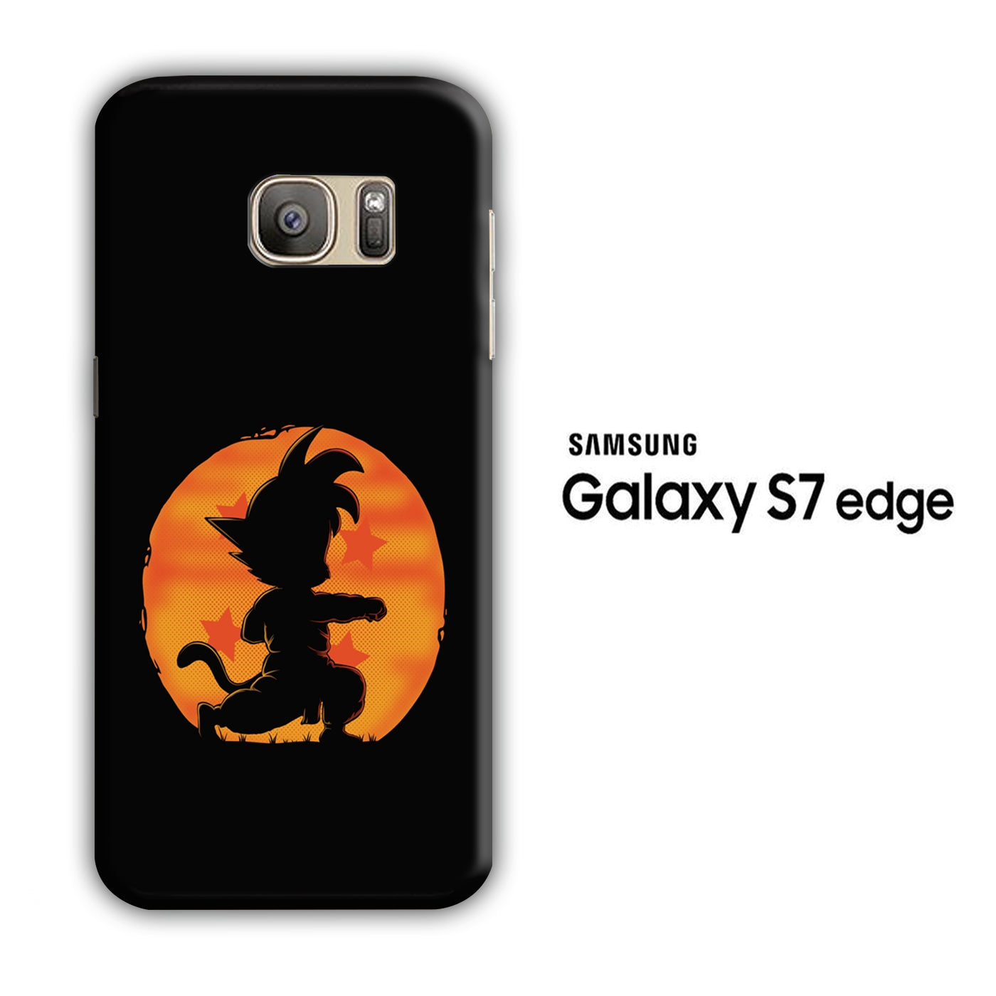Goku Dragon Ball Samsung Galaxy S7 Edge 3D Case