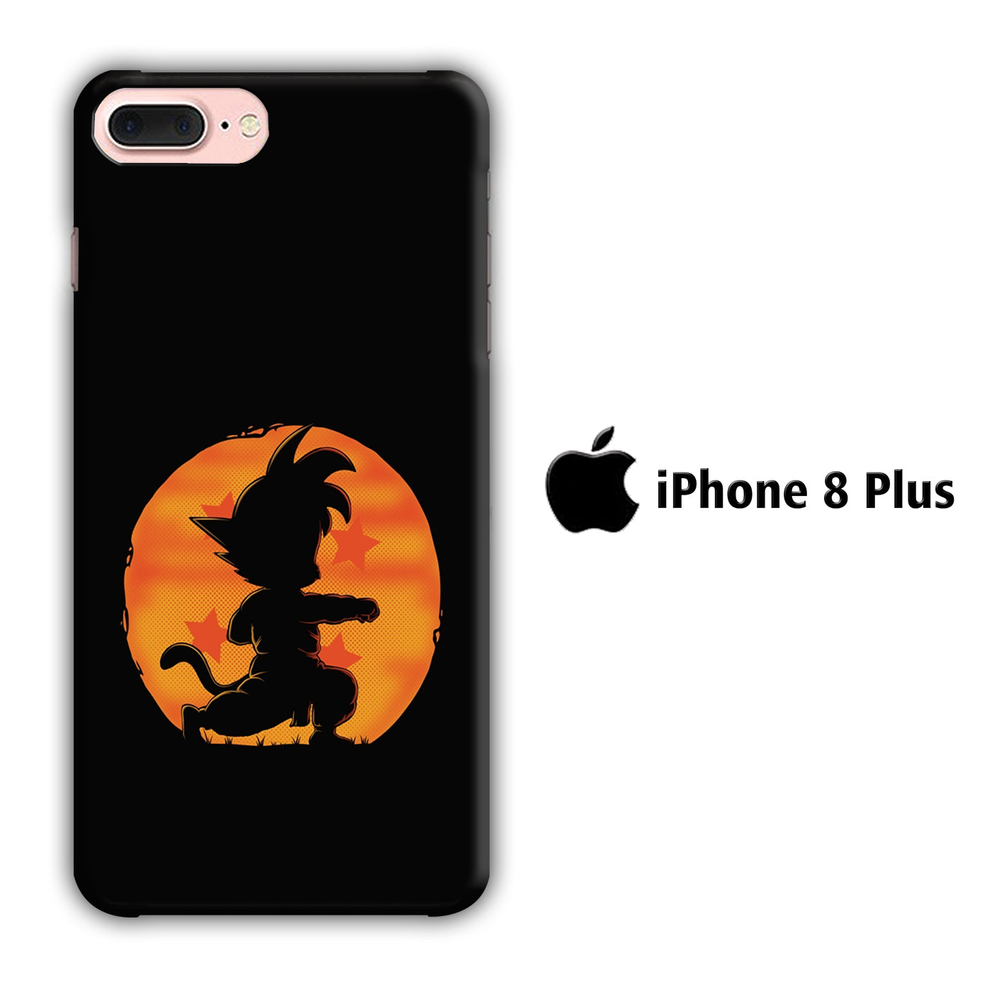 Goku Dragon Ball iPhone 8 Plus 3D Case