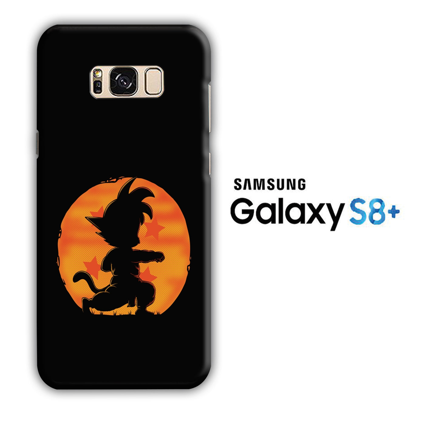 Goku Dragon Ball Samsung Galaxy S8 Plus 3D Case