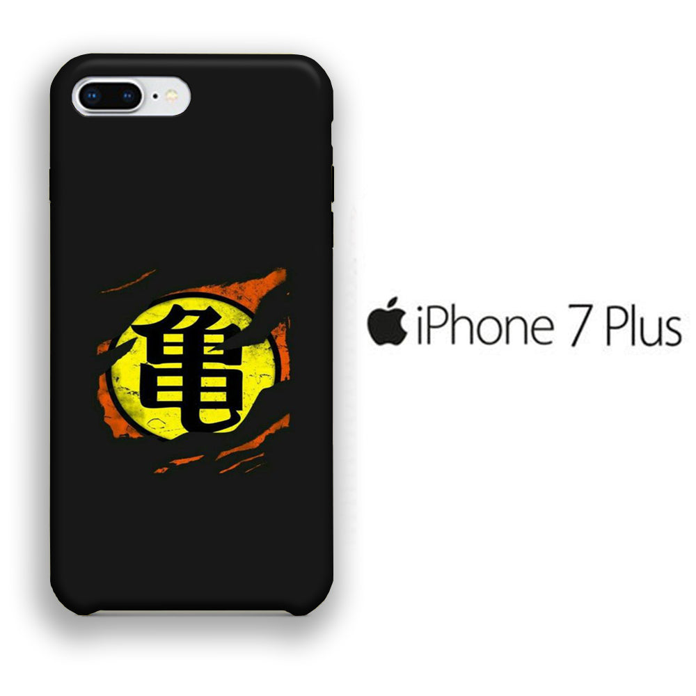 Goku Logo 001 iPhone 7 Plus 3D Case
