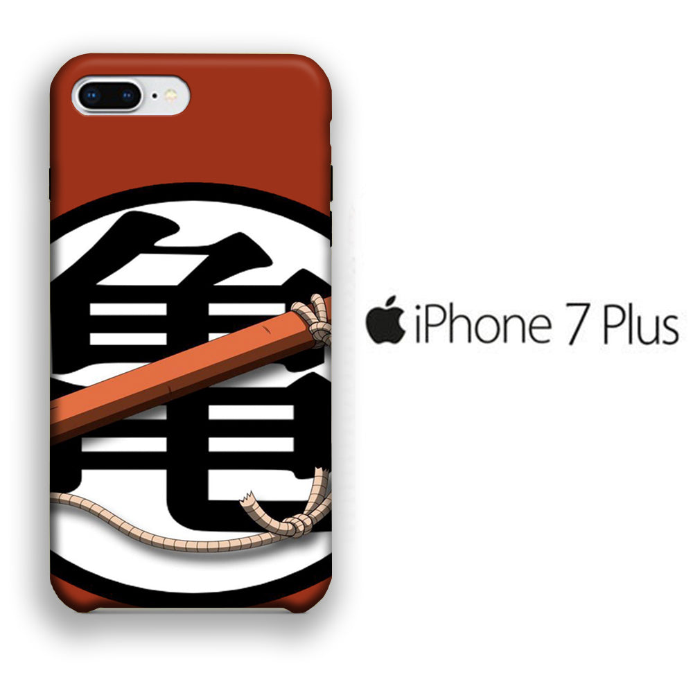 Goku Logo 004 iPhone 7 Plus 3D Case