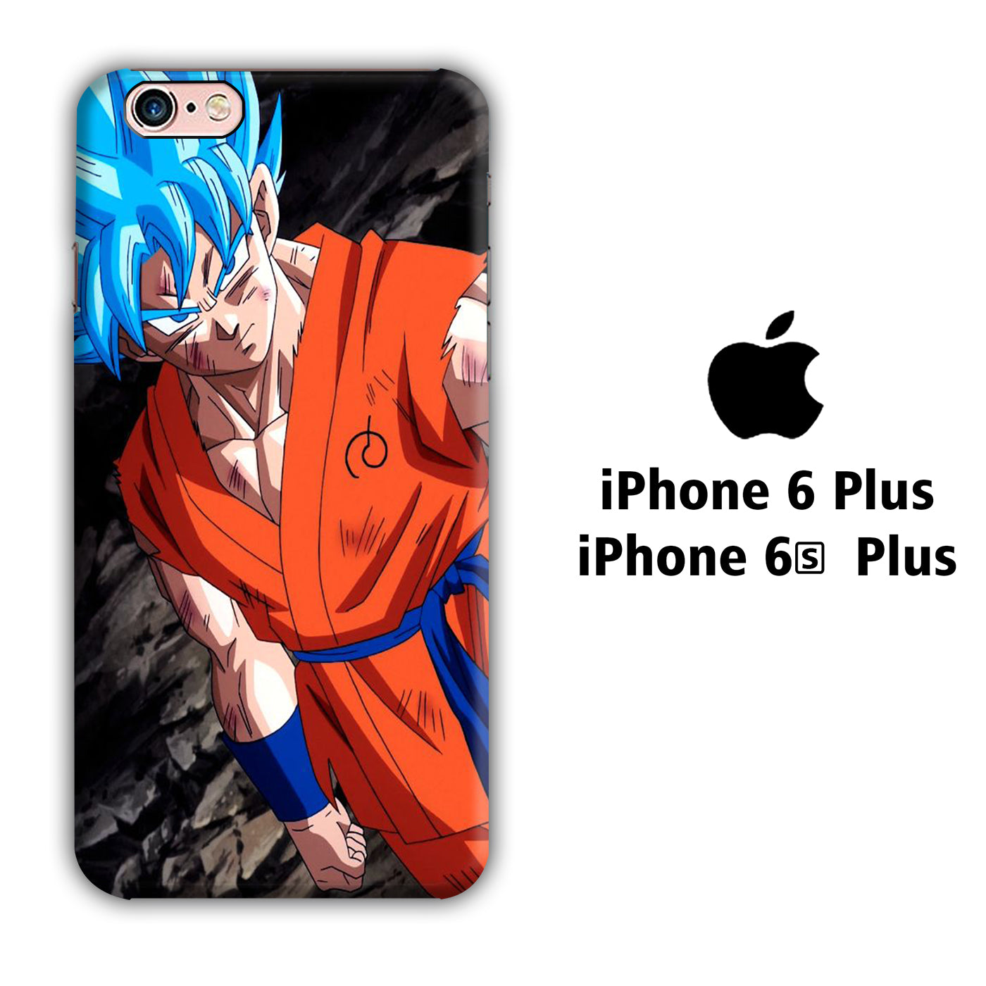 Goku Side iPhone 6 Plus | 6s Plus 3D Case