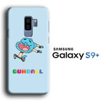 Gumball Jump Happy Samsung Galaxy S9 Plus 3D Case