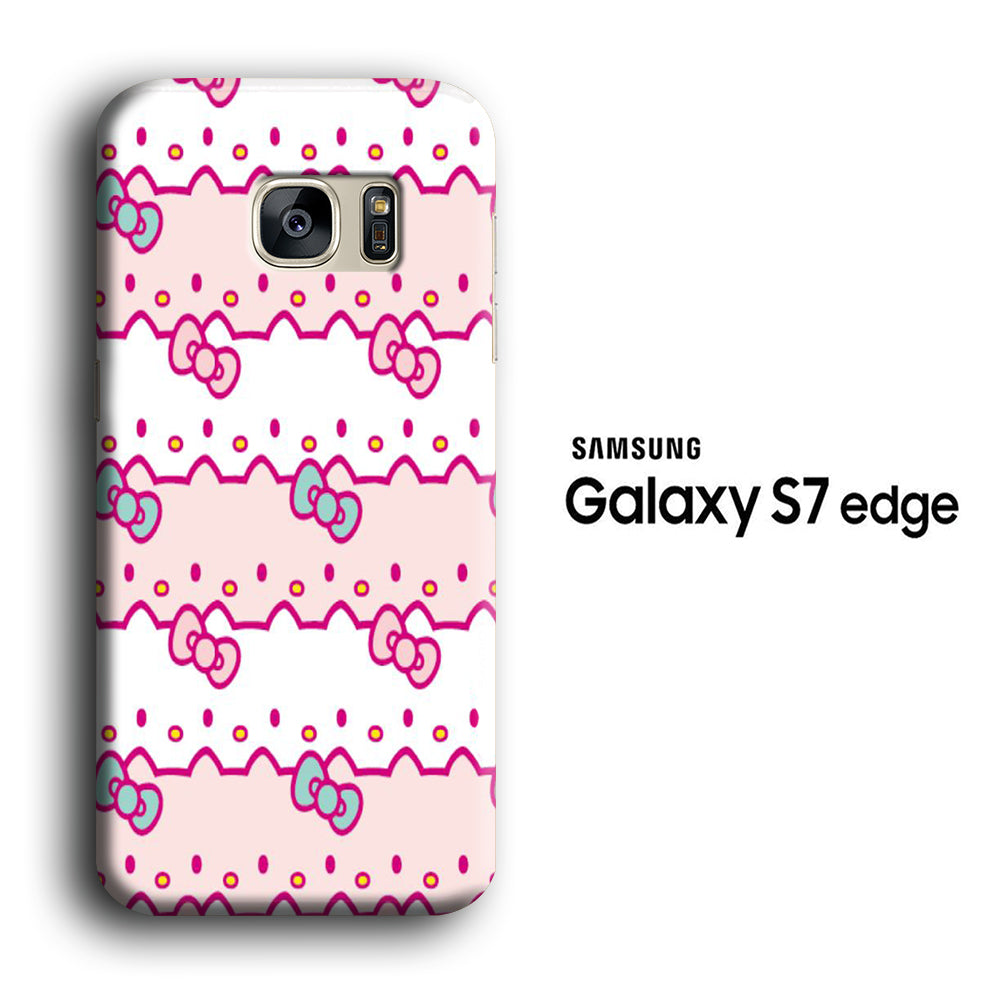 Hello Kitty Wallpaper Samsung Galaxy S7 Edge 3d Case Casecarney