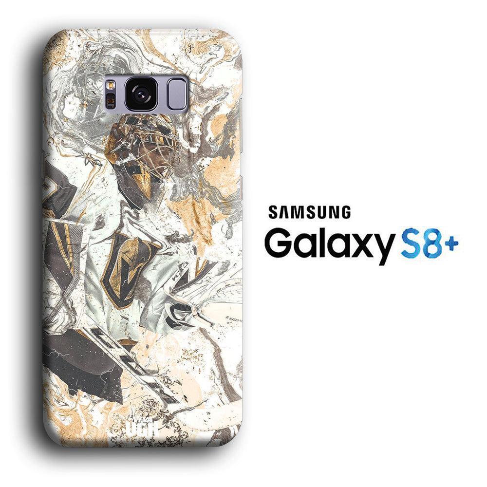 Hockey Vegas Golden Knight Marble Samsung Galaxy S8 Plus 3D Case