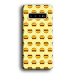 Junk Food Burger Samsung Galaxy S10 3D Case