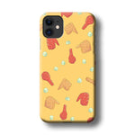 Junk Food Fried Chicken iPhone 11 3D Case