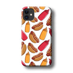 Junk Food Hot Dog iPhone 11 3D Case