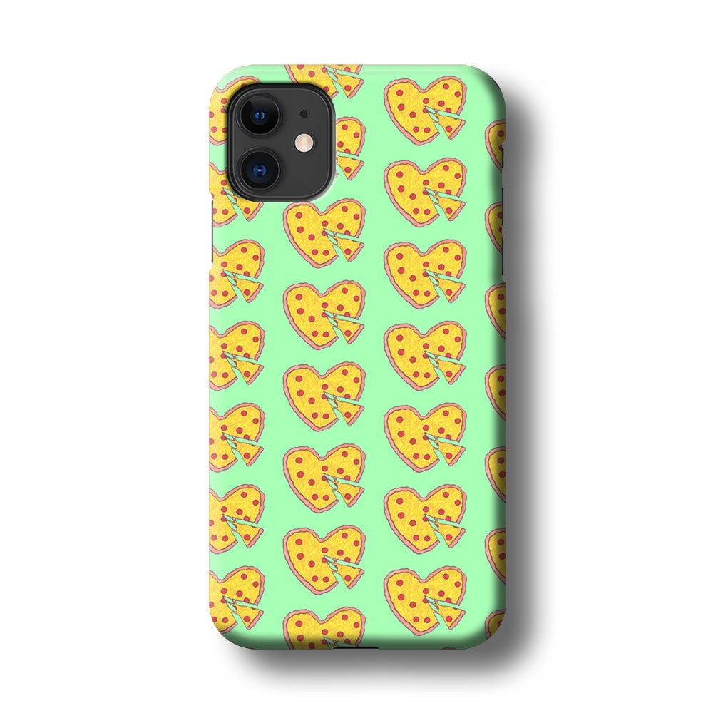 Junk Food Love Pizza iPhone 11 3D Case