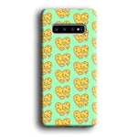 Junk Food Love Pizza Samsung Galaxy S10 3D Case