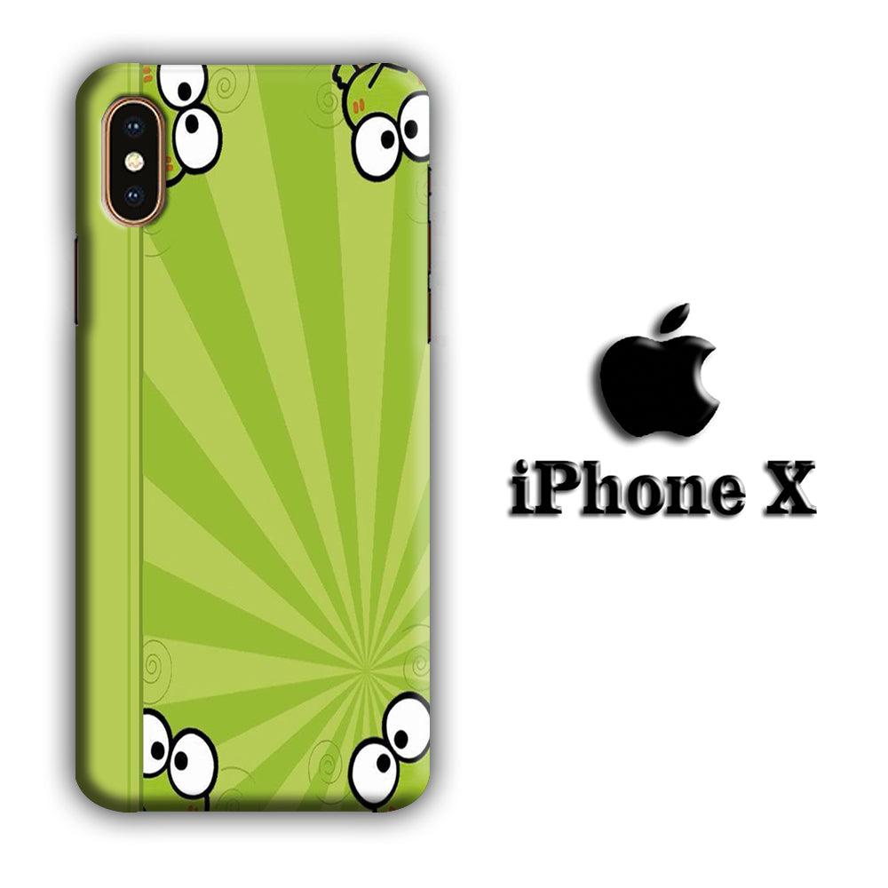 Keroppi Peek iPhone X 3D Case