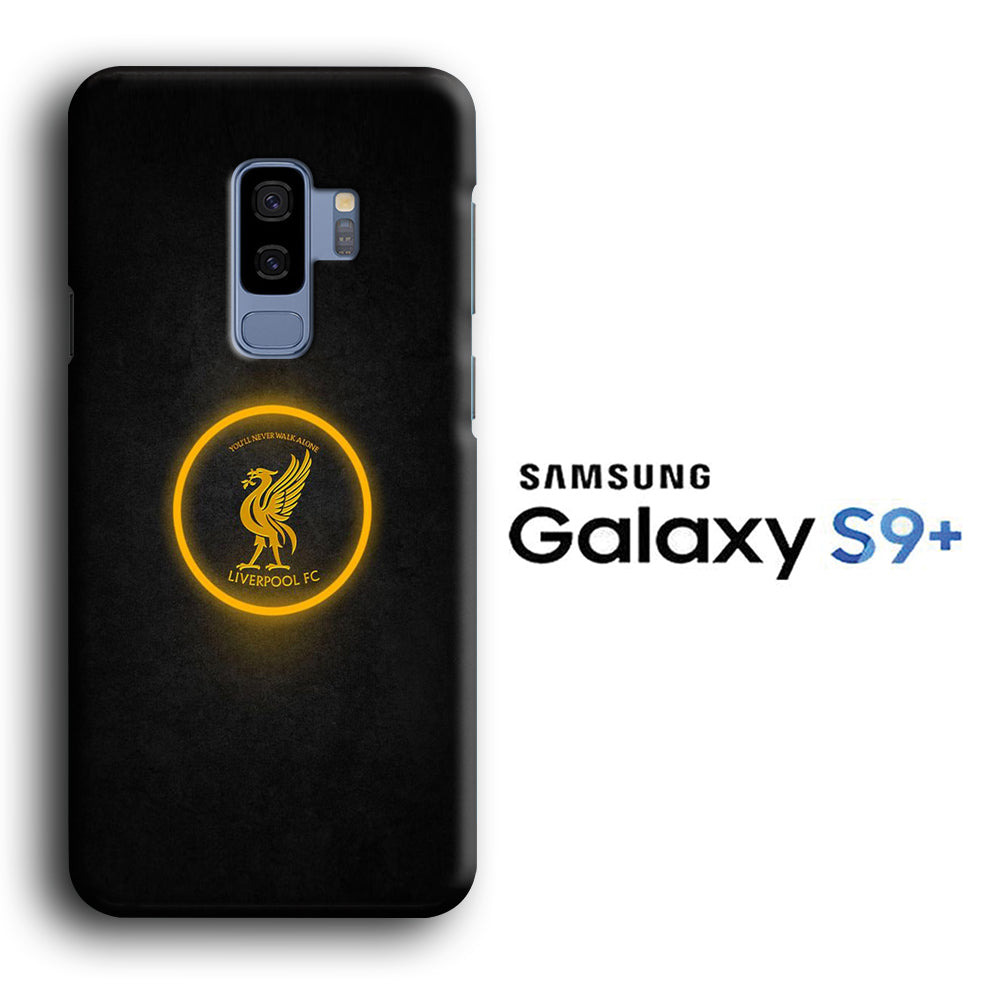 Liverpool Gold Ring Logo Samsung Galaxy S9 Plus 3D Case