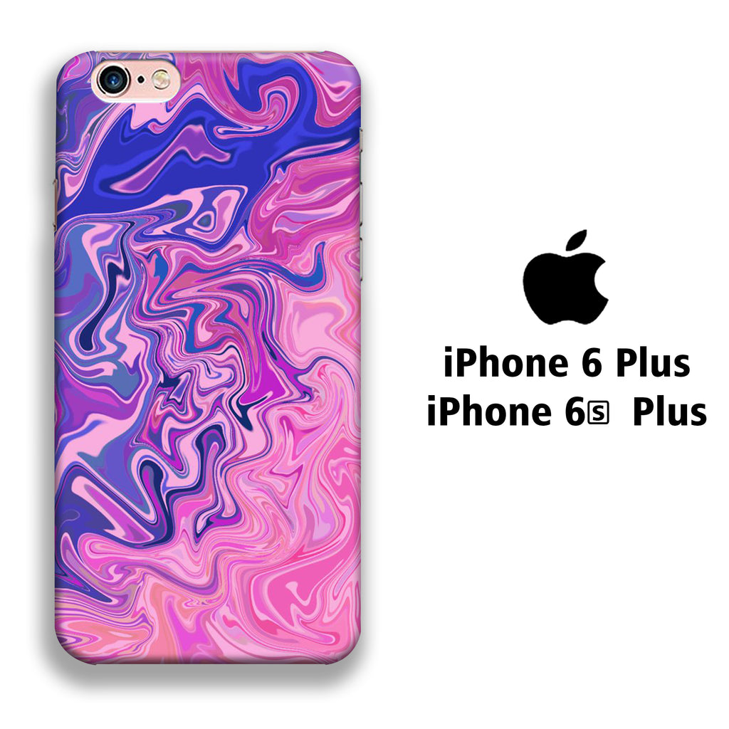 Marble Purple 004 iPhone 6 Plus | 6s Plus 3D Case