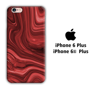 Marble Red Maroon 004 iPhone 6 Plus | 6s Plus 3D Case