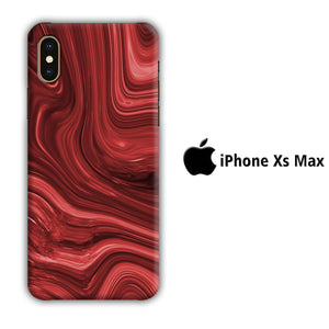 Marble Red Maroon 004 iPhone Xs Max 3D Case