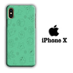Mario Equipment Green iPhone X 3D Case