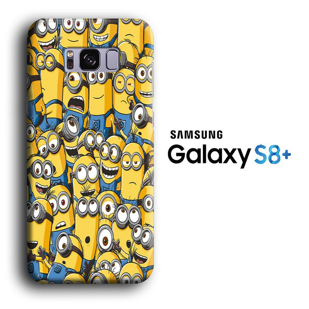 Minion Squad Wallpaper Samsung Galaxy S8 Plus 3d Case Casecarney