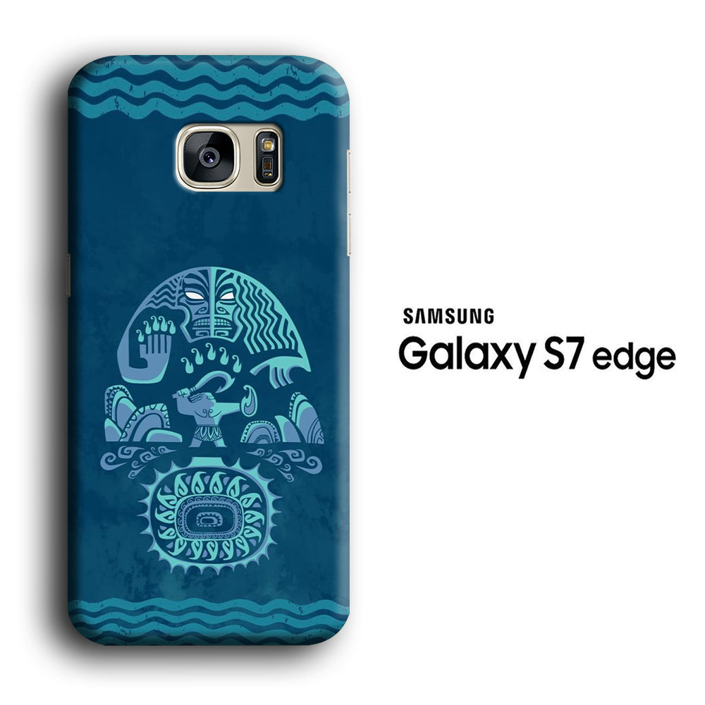 Moana Wallpaper Samsung Galaxy S7 Edge 3d Case Casecarney