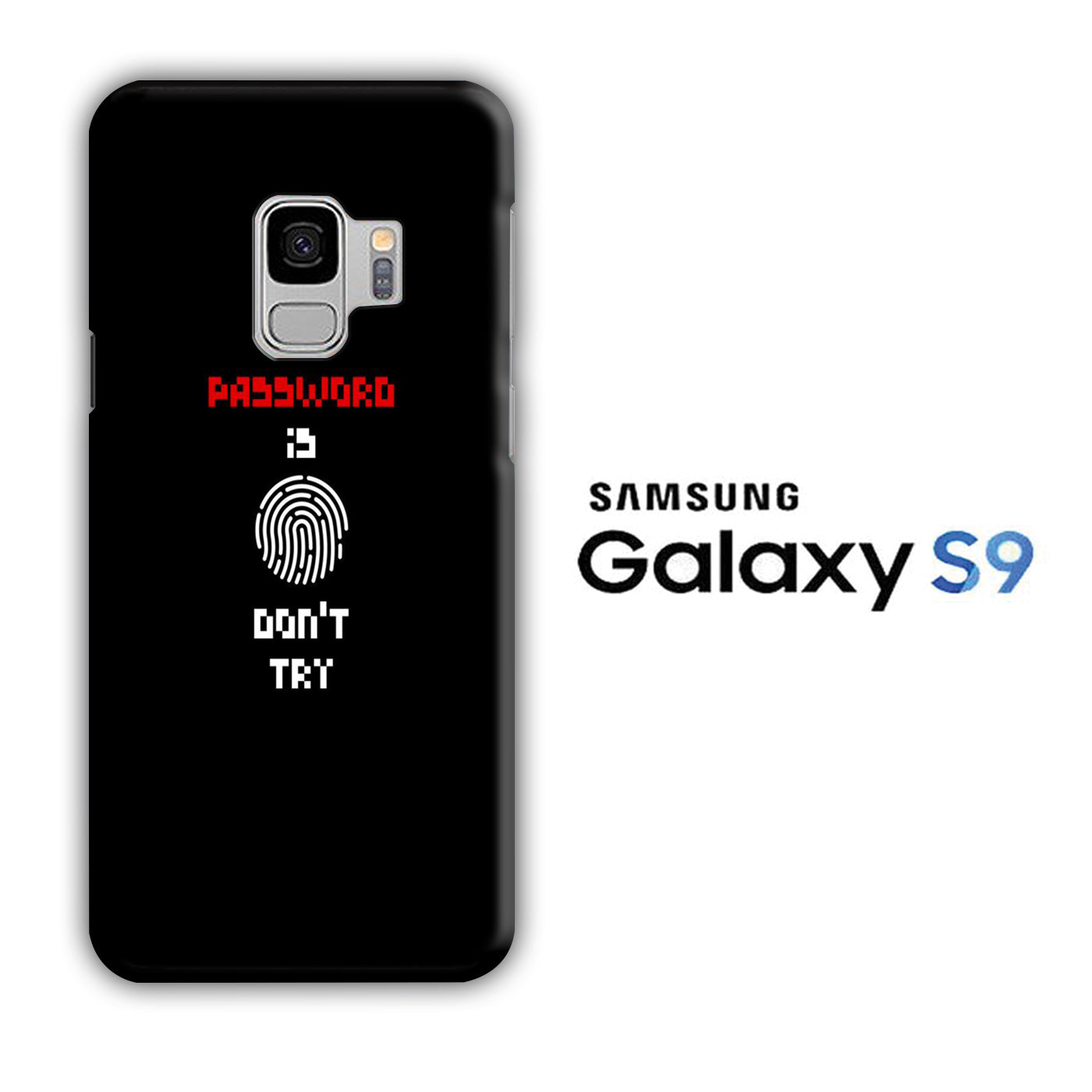 My Password Samsung Galaxy S9 3D Case
