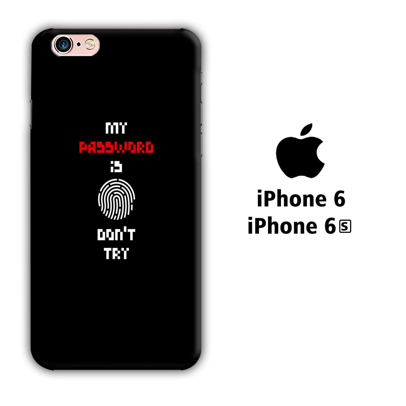 My Password iPhone 6 | 6s 3D Case