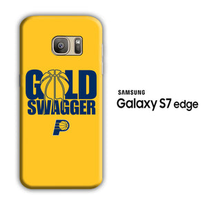 NBA Gold Swagger Samsung Galaxy S7 Edge 3D Case