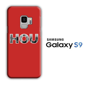 NBA Houston Rockets HOU Samsung Galaxy S9 3D Case