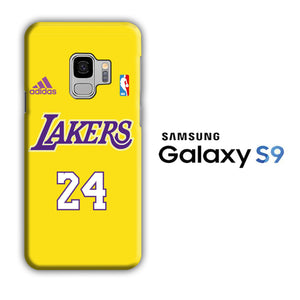 NBA Lakers Jersey 24 Samsung Galaxy S9 3D Case