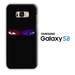 Naruto Eyes Blue Red Samsung Galaxy S8 3D Case