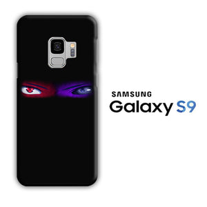 Naruto Eyes Blue Red Samsung Galaxy S9 3D Case