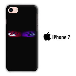 Naruto Eyes Blue Red iPhone 7 3D Case