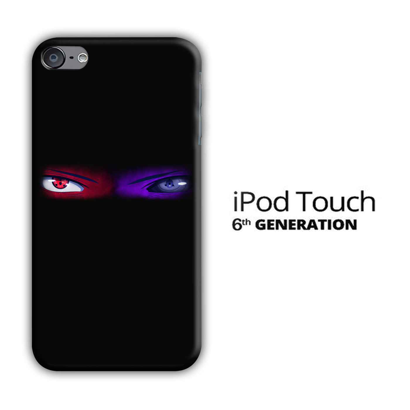 Naruto Eyes Blue Red iPod Touch 6 3D Case