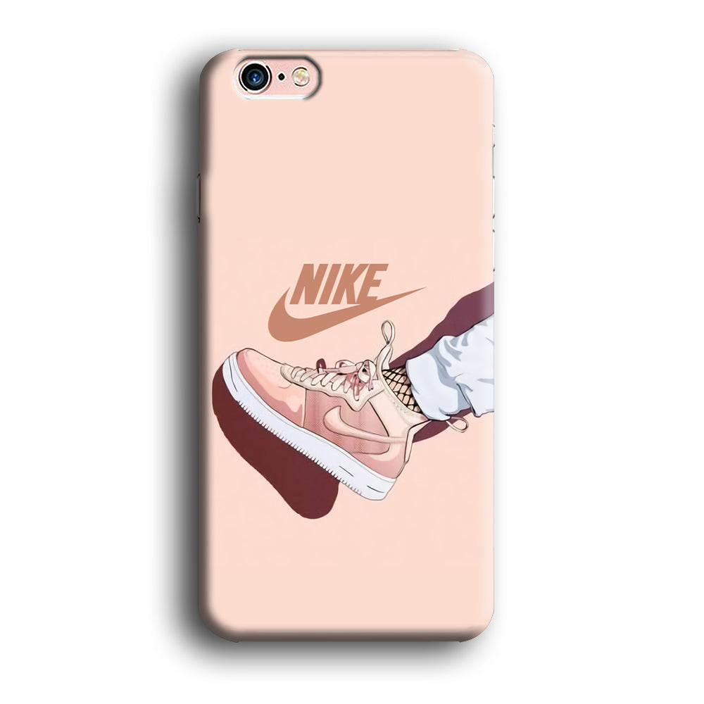 Nike Peach Shoes iPhone 11 3D Case