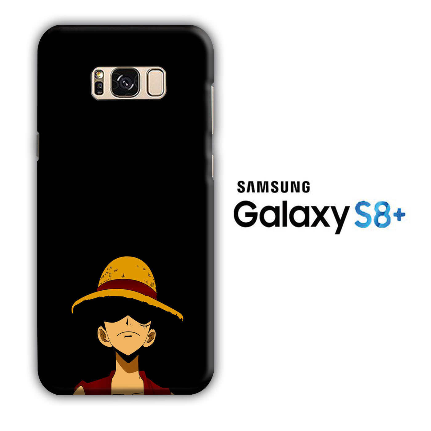 One Piece Luffy Hat Samsung Galaxy S8 Plus 3D Case