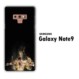 One Piece Ace Black Samsung Galaxy Note 9 3D Case